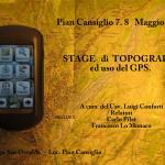 Stage orientamento topografia e uso del GPS